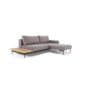 Innovation Divano Letto Bragi with side table 2