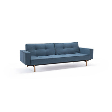 Innovation Divano letto Splitback with armrests  colore Blu