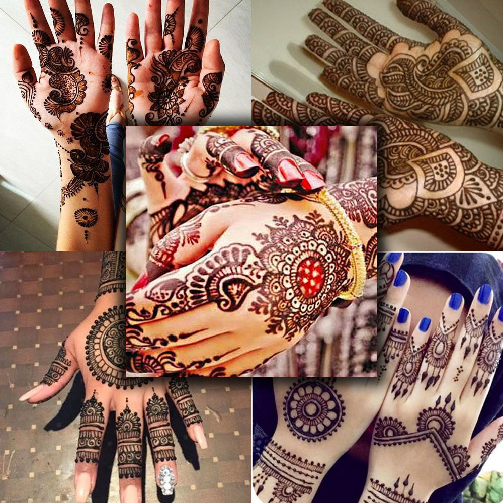 Top 5 henna tattoo design ideas for you