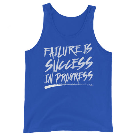 Success In Progress Tank Top