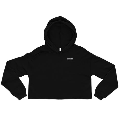 Success In Progress Crop Hoodie