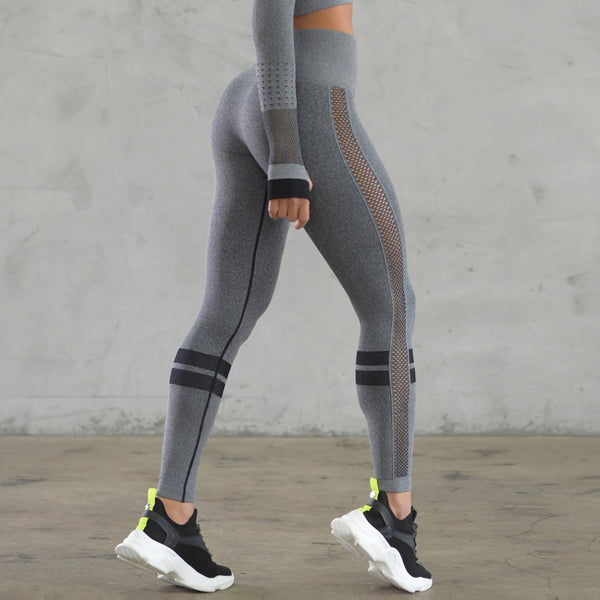 Power Mesh Seamless Leggings