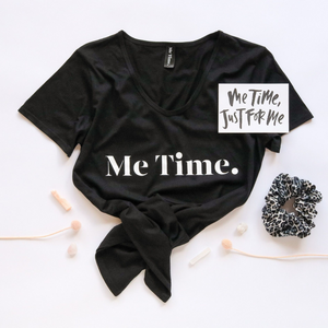 Me Time. Ella Tee - Black