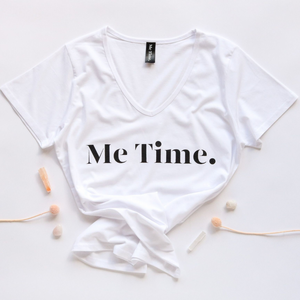 Me Time. Ella Tee - White