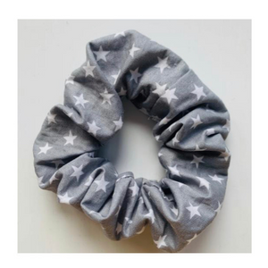 Me Time. Secure Me Scrunchie - Grey Star