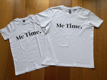Load image into Gallery viewer, Me Time. Youth Raff Tee - White