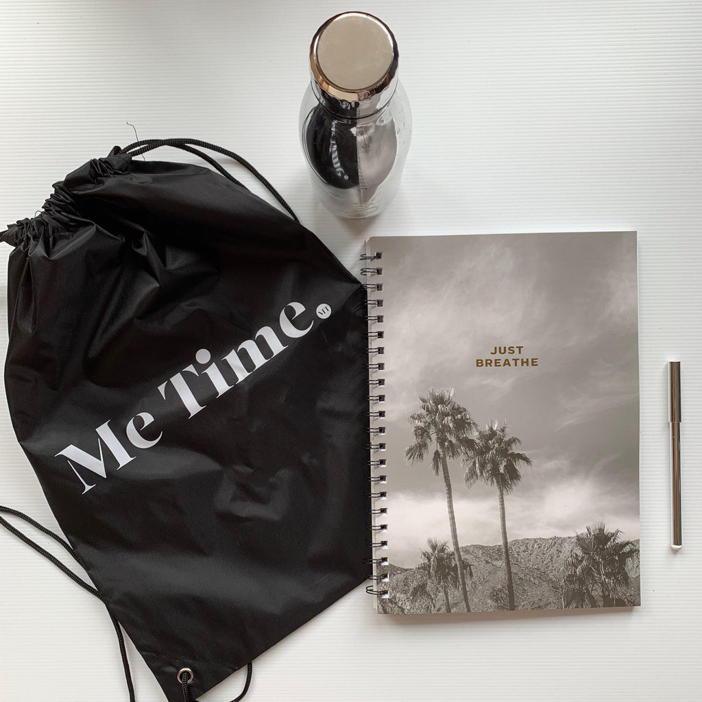 Me Time. Take Me With You Drawstring Bag