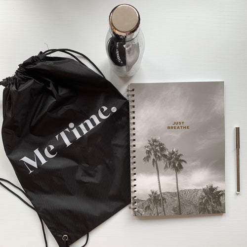 Me Time. Drawstring Bag
