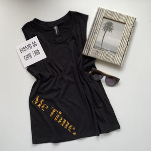 Me Time. Sonny Tank - Black Signature - SALE