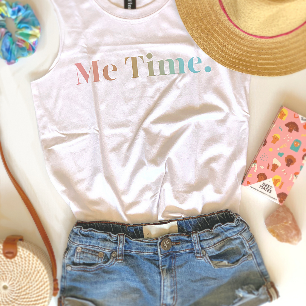 Me Time. Limited Edition Sunshine Tank - Me Time. Just For Me