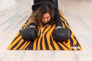 Me Time. Eye Of The Tiger Yoga Mat