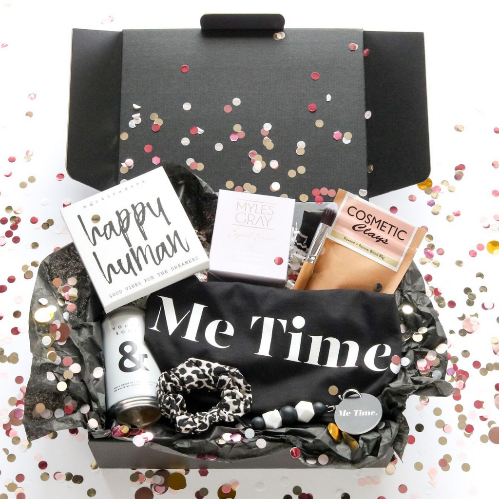 Me Time. Custom Gift Box