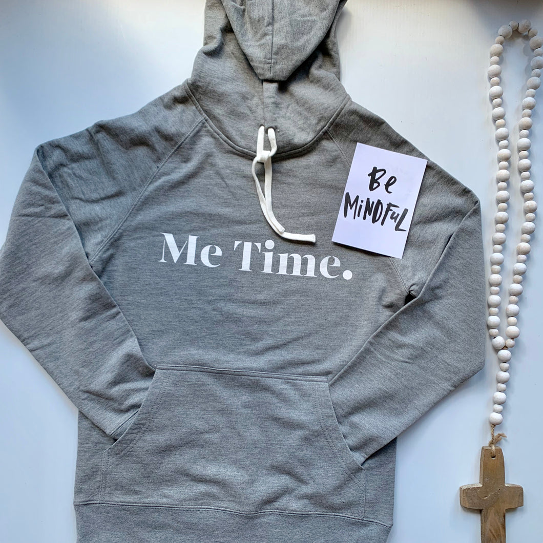 Me Time. Hug Me Hoody - Grey