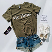 Load image into Gallery viewer, Me Time. Raff Tee - Khaki