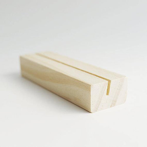 MT WOODEN HOLDER