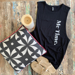 Me Time. Jax Tank - Black - SALE