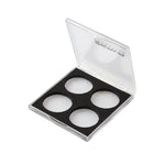 PALETTE 4 HOLES TRANSPARENT EMPTY - ZervaCosmetics