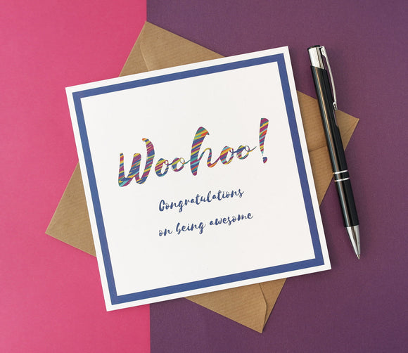 Woohoo! Congratulations on being awesome card