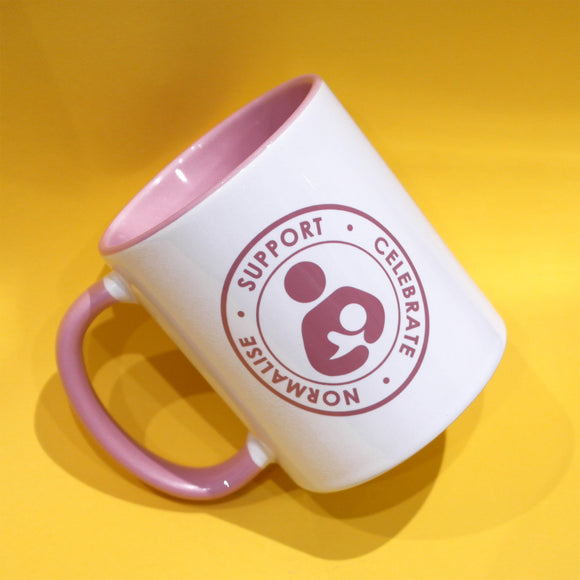 NEW - Breastfeeding Support Celebrate Normalise Ceramic Mug