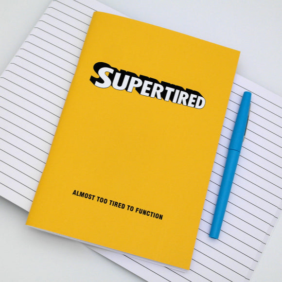Supertired A5 Notebook