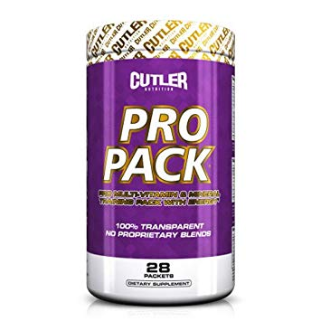 CUTLER NUTRITION PRO PACK 28 PACKS