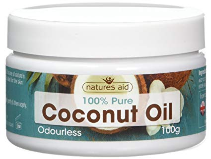 NATURES AID 100% PURE COCONUT OIL 100G