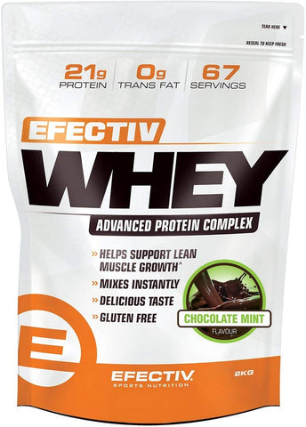 EFFECTIV WHEY 2000G CHOCOLATE MINT