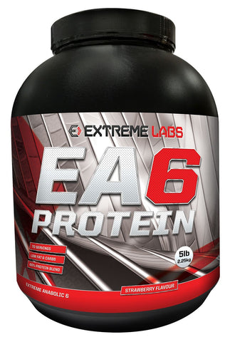 EXTREME LABS 2250G EA6 PROTEIN STRAWBERRY