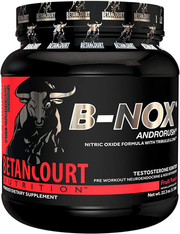 Betan Court Nutrition Preworkout B-Nox 633g Fruit Punch
