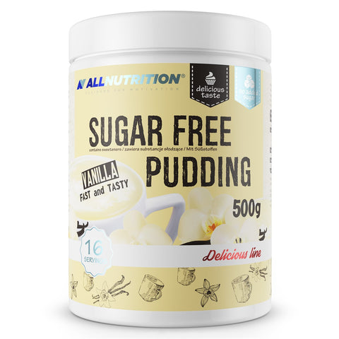 ALL NUTRITION SUGAR FREE PUDDING 500G