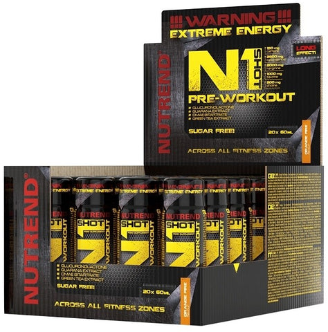 NUTREND N1 SHOT PREWORKOUT 60ML