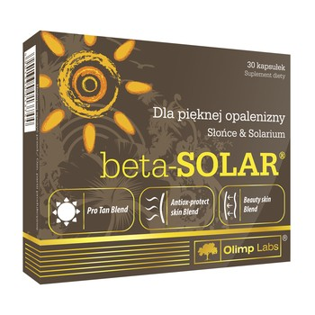 OLIMP NUTRITION BETA-SOLAR 30 CAPSULES