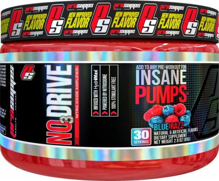 PRO SUPPS NO3DRIVE INSANE PUMPS BLUE RAZZ