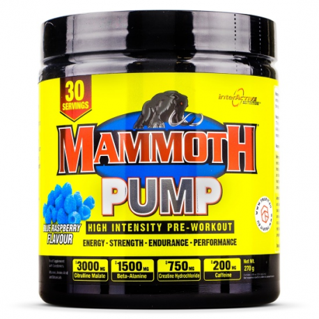 INTERACTIVE NURITION MAMMOTH PUMP WATERMELON 270G