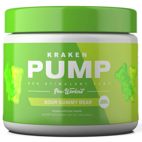 SPARTA NUTRITION KRAKEN PUMP 200G SOUR GUMMY