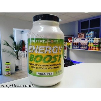 Nutrisport Energy Boost Pineapple 1.4Kg