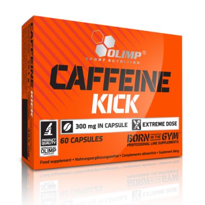 OLIMP SPORT NUTRITION -CAFFEINE KICK 60 CAPS/ OUT OF DATE