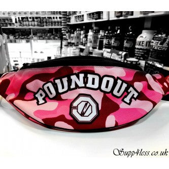 POUNDOUT HIP PACK PINK CAMO