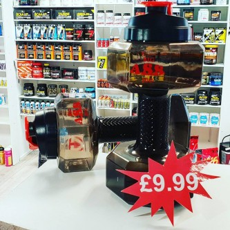 WATER JUG DUMBBELL 2 LITRE
