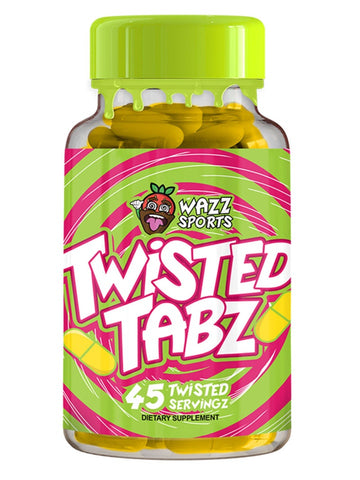 Wazz Sports Twisted Tabz Pre Workout Energy Tabz - 45 Servings