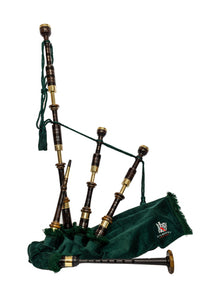 Kilberry Bagpipes  - Artisan Hand Made Bagpipes - Vintage Chalice Top Set