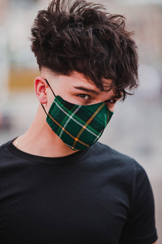 Celtic FC Official Tartan Face mask - Form Fitting