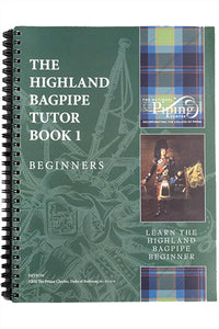 Highland Bagpipe Tutor Book 1 - Kilberry Bagpipes