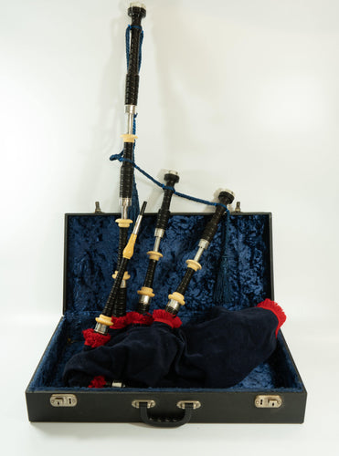 Macphersons Bagpipes - Silver and Ivory