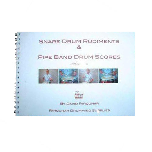 Drumming Book & CD by David Farquhar - Kilberry Bagpipes