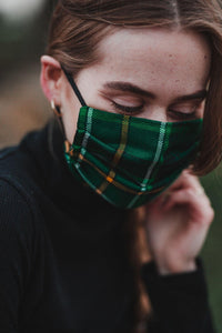 Celtic FC Tartan Face Mask - Kilberry Bagpipes
