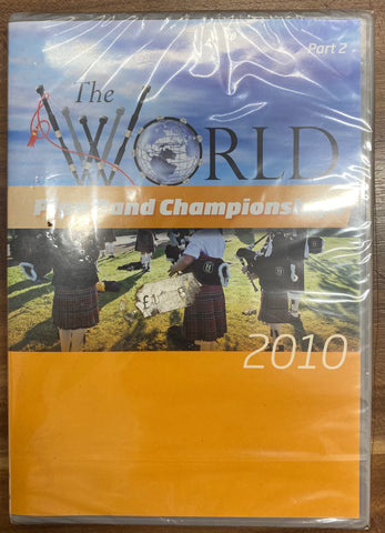The World Pipe Band Championship 2010 Part 2 - DVD