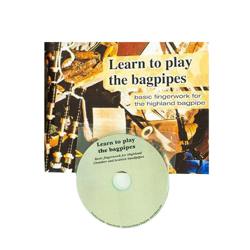 Kilberry Bagpipes Tutor Book and CD