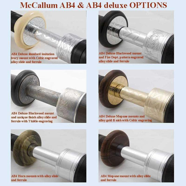 McCallum Bagpipes AB4 Set - Kilberry Bagpipes