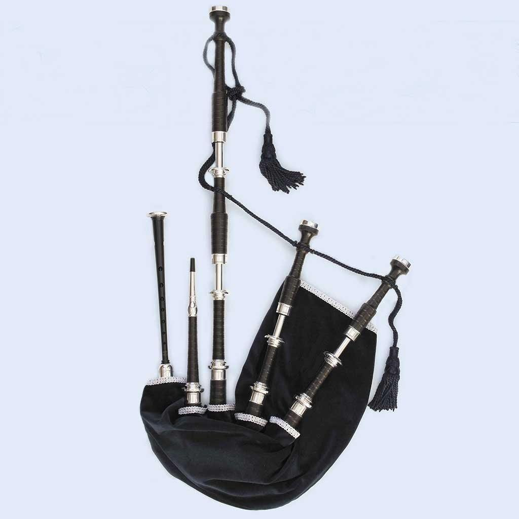 McCallum Bagpipes AB Set (Plain Full Alloy)
